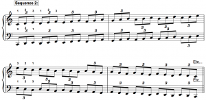 major piano scales